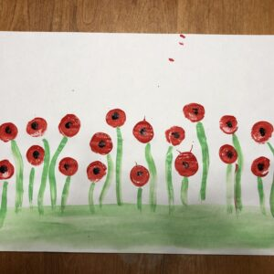 Why paint a field of poppies?